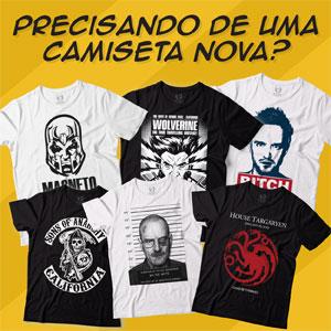 Camisetas Series Filmes Blitzart