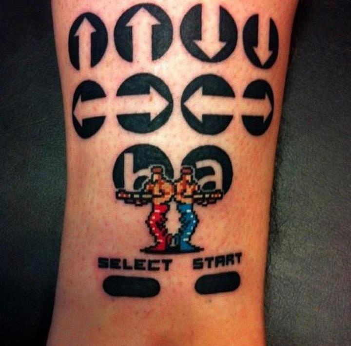 Tatuagens de games