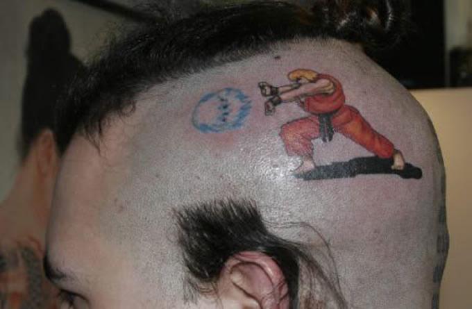Tatuagem de games
