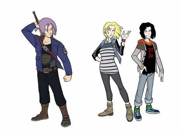 Personagens de Dragon Ball em versão Disney