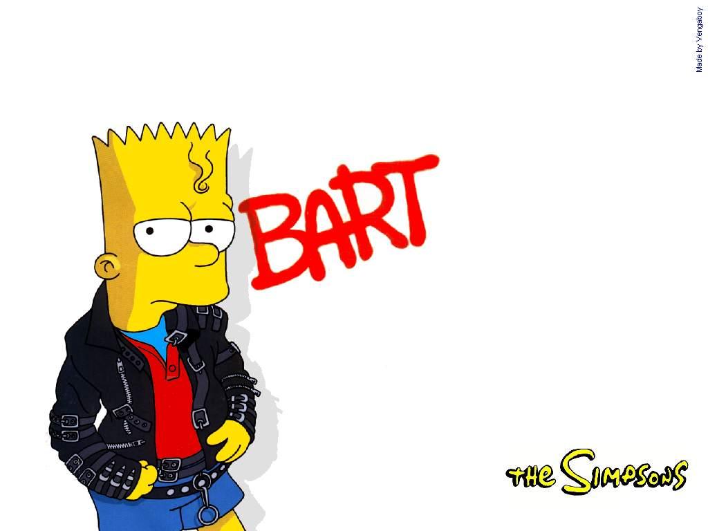 Bart, Os Simpsons
