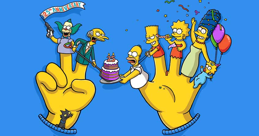 Os Simpsons 25 anos