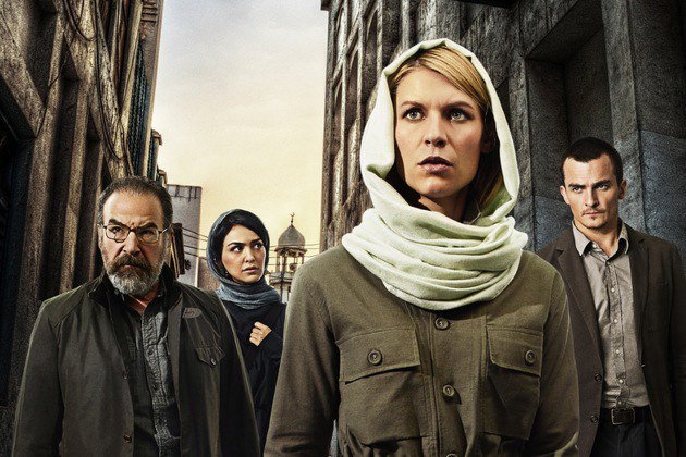 Claire Danes as Carrie Mathison in Homeland (Season 4, PR Art). - Photo:  Jim Fiscus/SHOWTIME - Photo ID:  HomelandS4_PRArt_01.R