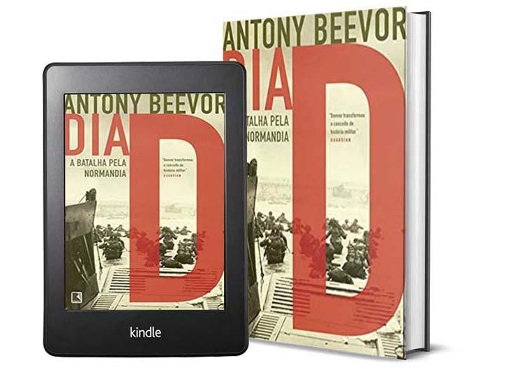 Livros Sobre a Segunda Guera Mundial - Dia D, do autor Antony Beevor
