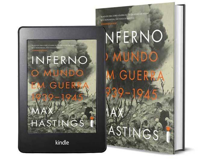 Livros Sobre a Segunda Guera Mundial - Inferno, do autor Max Hastings