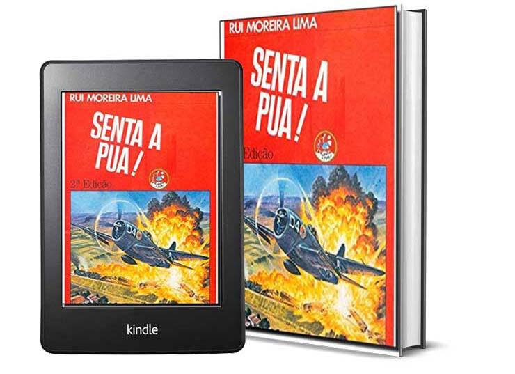 Livros Sobre a Segunda Guera Mundial - Senta a Puá, do autor Rui Moreira Lima
