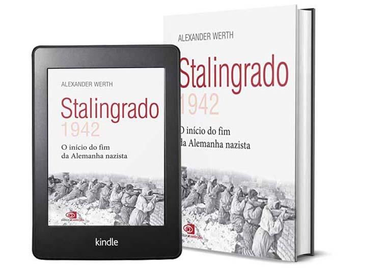 Livros Sobre a Segunda Guera Mundial - Stalingrado, do autor Alexander Werth